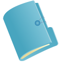 Document Folder blue128